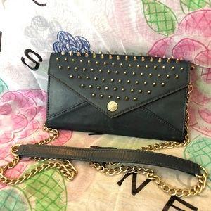 Rebecca Minkoff Studded Crossbody Wallet Bag WOC